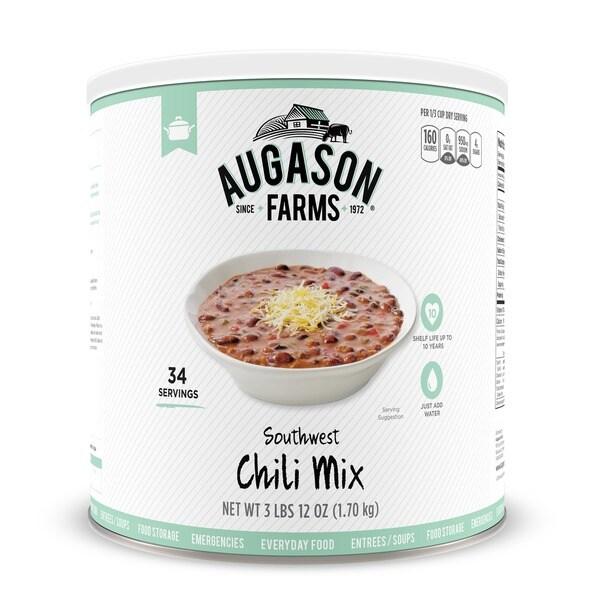 Augason Farms Food Storage Southwest Chili Mix 3-Pack