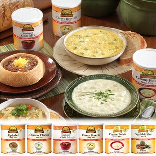 Augason Farms' Food Storage Soup Variety 6-Pack