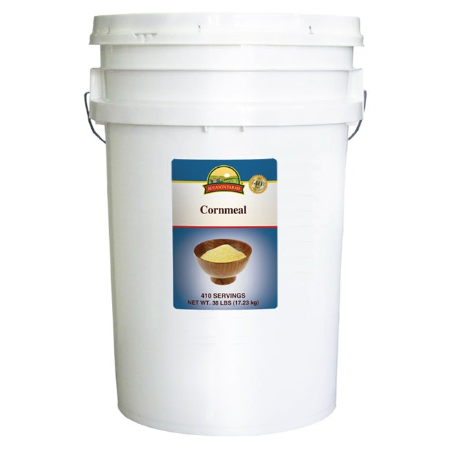Augason Farms 38-pound Pail Cornmeal