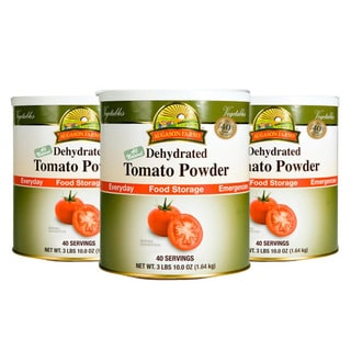 Augason Farms' Food Storage Tomato Powder 3-Pack