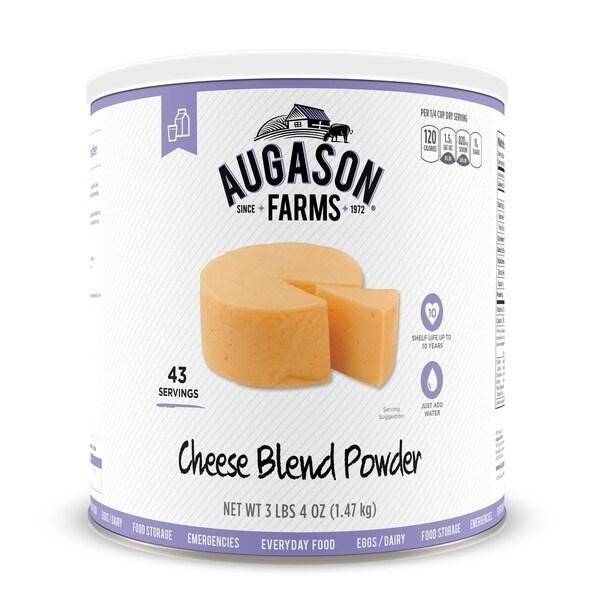 Augason Farms Cheese Blend Powder 52 oz #10 Can 21211775