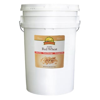 Augason Farms Hard Red Wheat-6 Gallon Pail