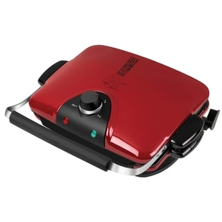 George Foreman GRP90WGR Next Grilleration Electric Nonstick Grill with 5 Removable Plates (Refurbished)