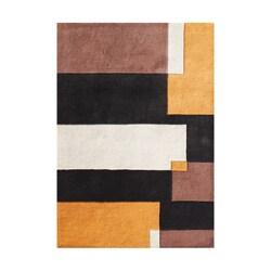 Alliyah Handmade Marigold New Zealand Blend Wool Rug (5' x 8')