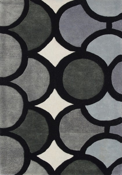 Alliyah Handmade Grey New Zealand Blend Wool Area Rug (9' x 12')