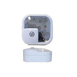 10 Super-Bright LED Wireless Motion Sensor Light