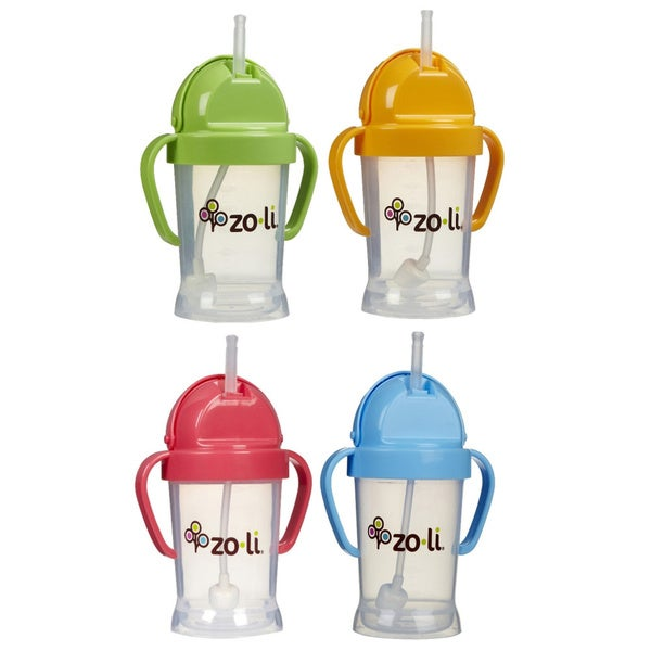 Zoli Baby BOT Straw 6-oz Sippy Cup 9778491