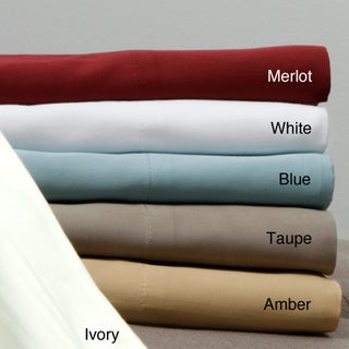 Egyptian Cotton 320 Thread Count Woven Stripe Sheet Set