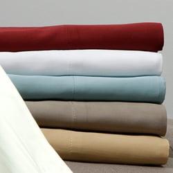 Egyptian Cotton 320 Thread Count Woven Stripe Sheet Set