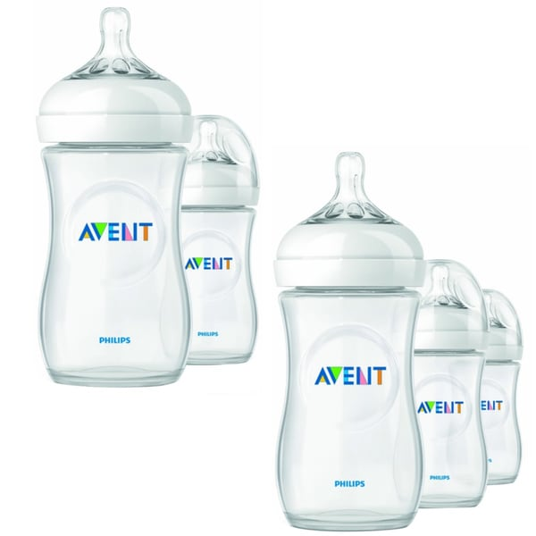 Philips AVENT Natural 9-ounce Feeding Bottle with Travel Case