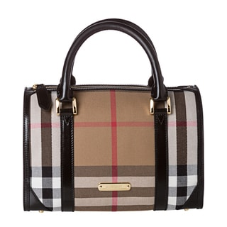 Burberry 3833604 House Check Bowler Bag