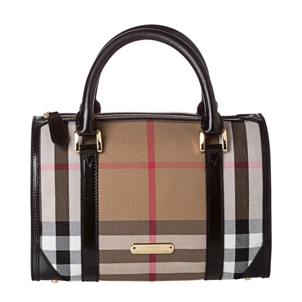 Burberry 3833604 House Check Bowler Bag