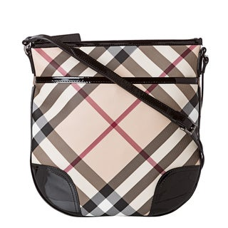 Burberry 3800998 Small Nova Check Crossbody Bag