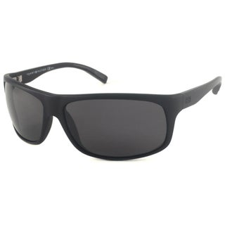 Tommy Hilfiger Unisex TH1079 Polarized Wrap Sunglasses