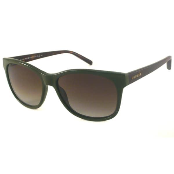 Tommy Hilfiger Women's TH1985 Rectangular Sunglasses