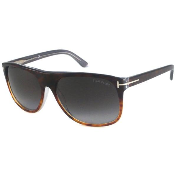 Tom Ford Men's TF0195 Alphonse Rectangular Sunglasses