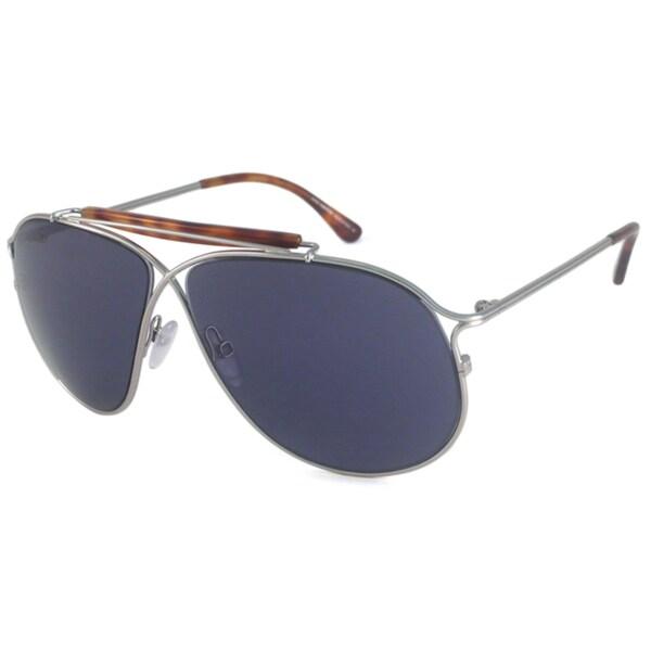 Tom Ford Men's TF0193 Magnus Rectangular Sunglasses