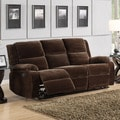 Angus Coffee Brown Velvet Sofa
