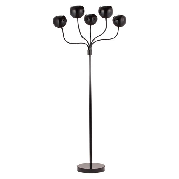 Luminosity Black Floor Lamp