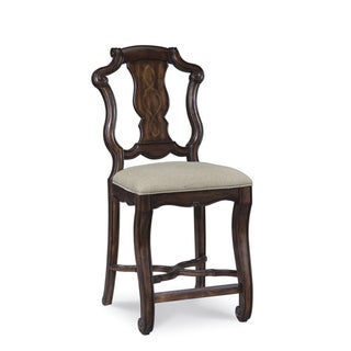 Coronado Linen Counter Height Chair (Set of 2)
