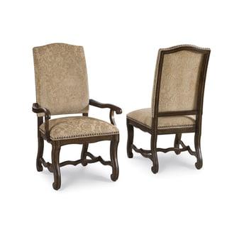 Coronado Linen Upholstered Side Chair (Set of 2)