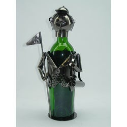 Wine Caddy Golfer Character Wine Bottle Holder