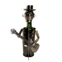 Wine Caddy Guitarist Character Wine Bottle Holder