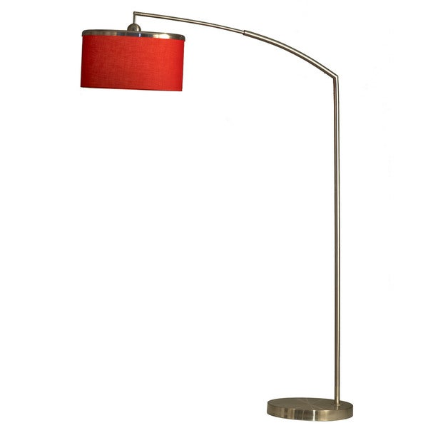 Nova Red Brim Arc Lamp