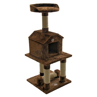 Cat Tree Furniture Brown 45 inches High