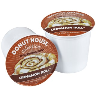 Donut House Collection 'Cinnamon Roll' Coffee K-Cups (Box of 96)