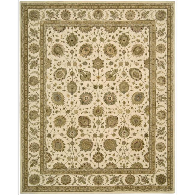 Nourison 3000 Hand-tufted Ivory Rug (12' x 15')