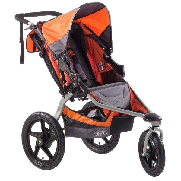BOB Revolution SE Stroller in Orange