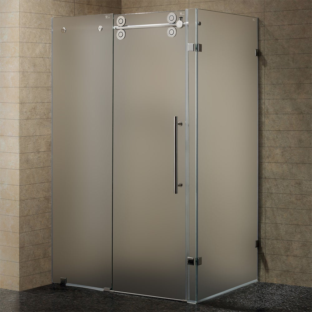 Frosted Glass Shower Doors shower door frosted glass