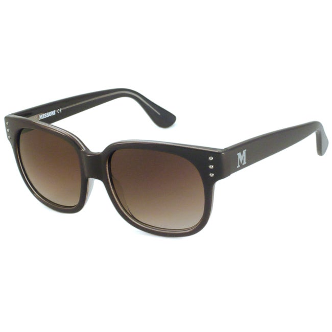 Missoni Women's MI581 Rectangular Sunglasses