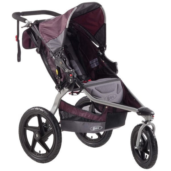 BOB Revolution SE Stroller in Plum