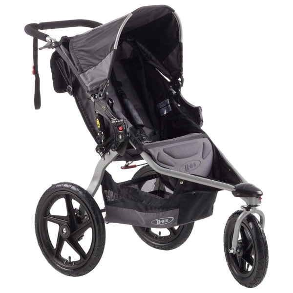 BOB Revolution SE Stroller in Black