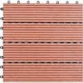 Bamboo 12-inch Floor Tiles (Pack of 11)