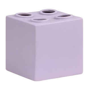 Bloque Sculpture Double Purple (Set of 4)