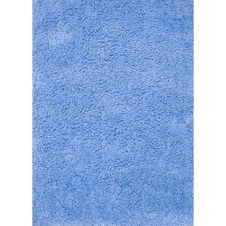 Hand-tufted Hedwig Blue Rug (7'6 x 9'6)