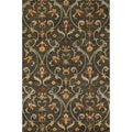 Hand-tufted Ferring Charcoal Wool Rug (7'10 x 11'0)