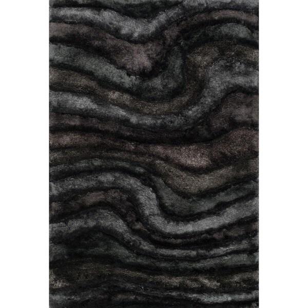 Hand-woven Perseus Midnight Rug (3'6 x 5'6)