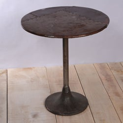 Old Iron Lacquer Rohtang Metal Table (India)