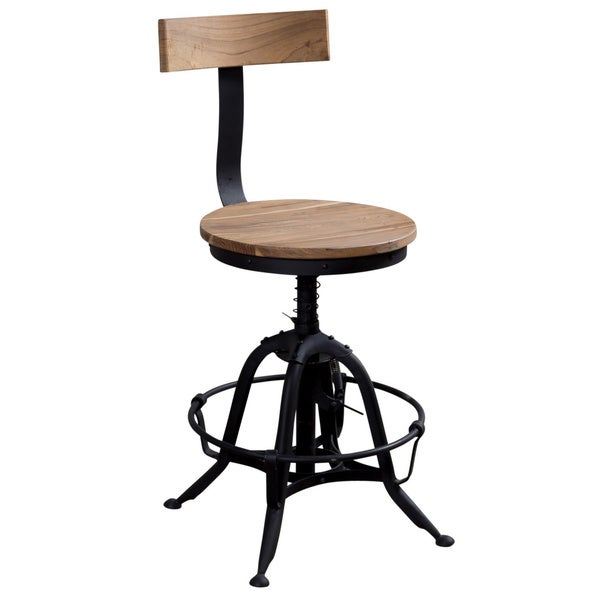 Umaria Adjustable Iron Stool India Overstock Shopping