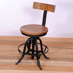 Umaria Adjustable Iron Stool (India)