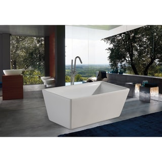 Aquatica PureScape 172 Freestanding Acrylic Bathtub