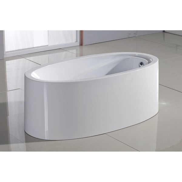 Aquatica PureScape 317 Freestanding Acrylic Bathtub
