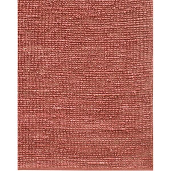 Hand-woven Solid Fuchsia Jute Rug (5' x 8')