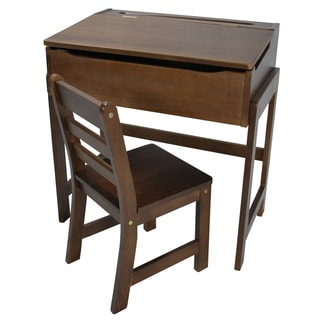 Child's Slanted Top Desk with Chair