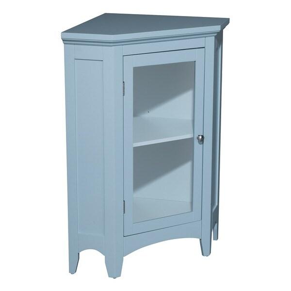 Allendale Corner Floor Cabinet with 1 Door