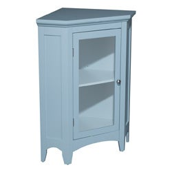 Allendale Corner Floor Cabinet with 1 Door